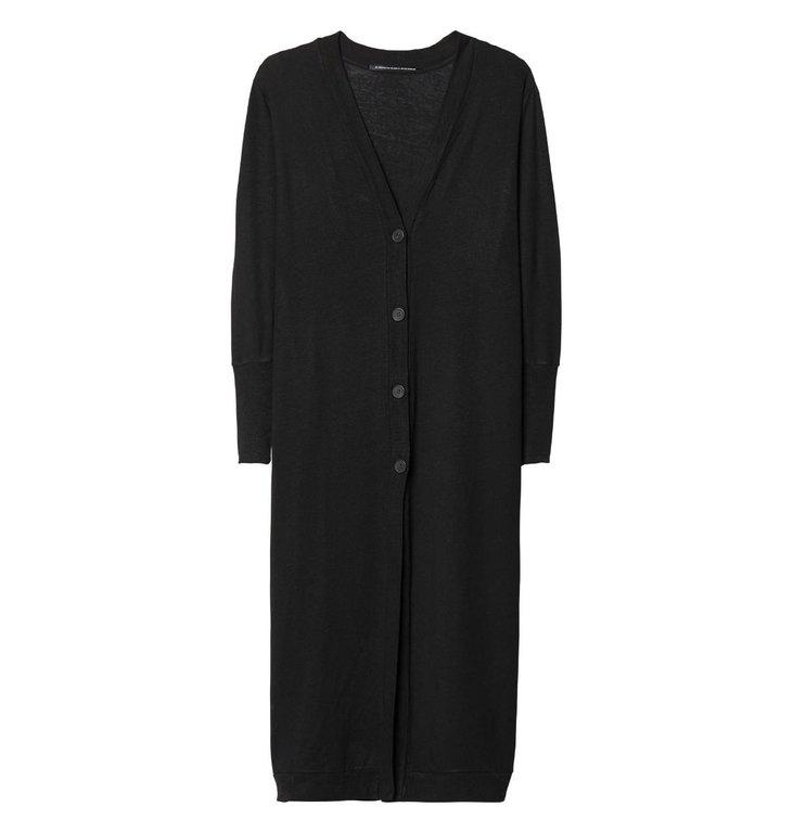 10Days 10Days Black Linen Cardigan XL 20.859.9103
