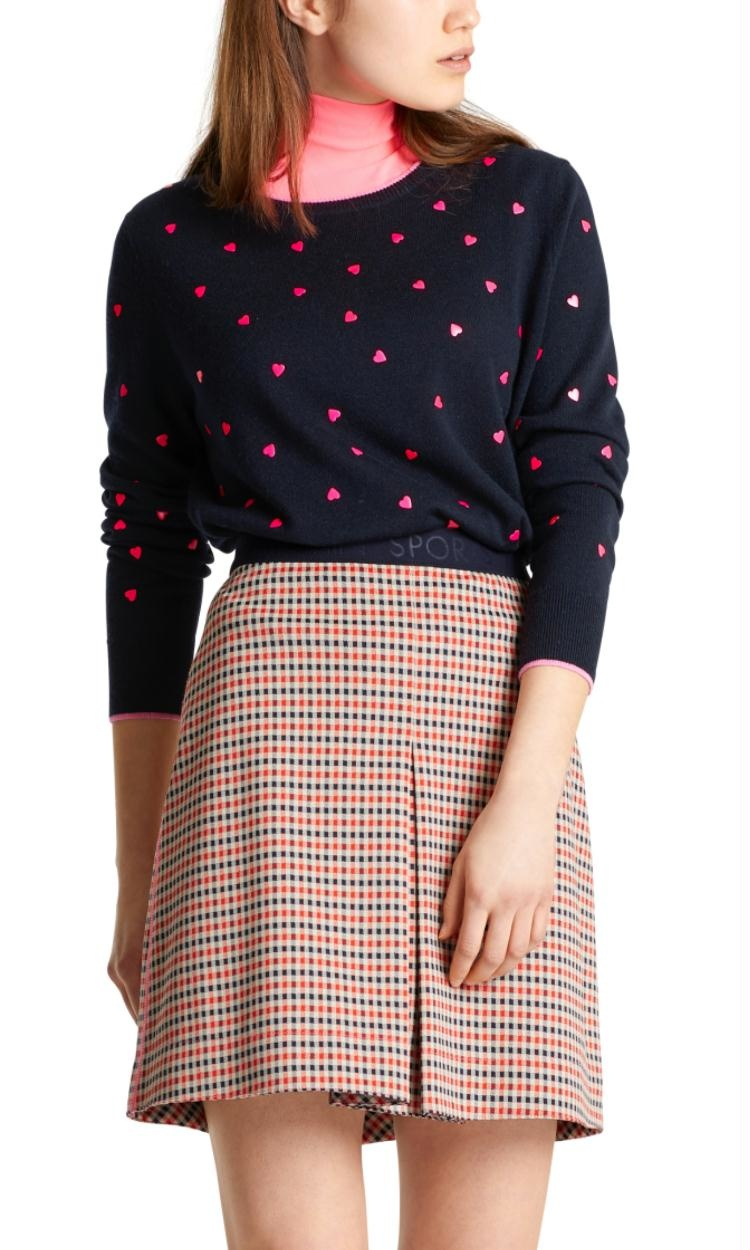 Marc Cain Navy Knit MS4103
