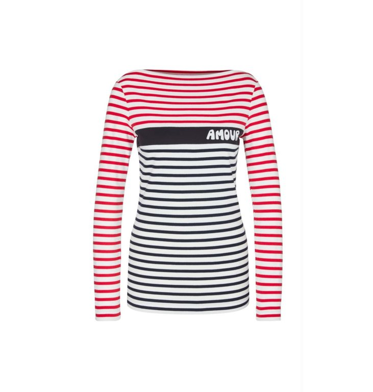 Marc Cain Marc Cain Striped Longsleeve MS4819