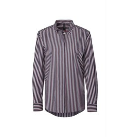Marc Cain Marc Cain Navy Striped Blouse MS5104