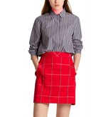 Marc Cain Navy Striped Blouse MS5104