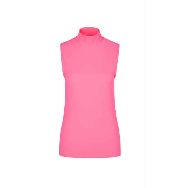 Marc Cain Marc Cain Pink Turtleneck Top MS6103