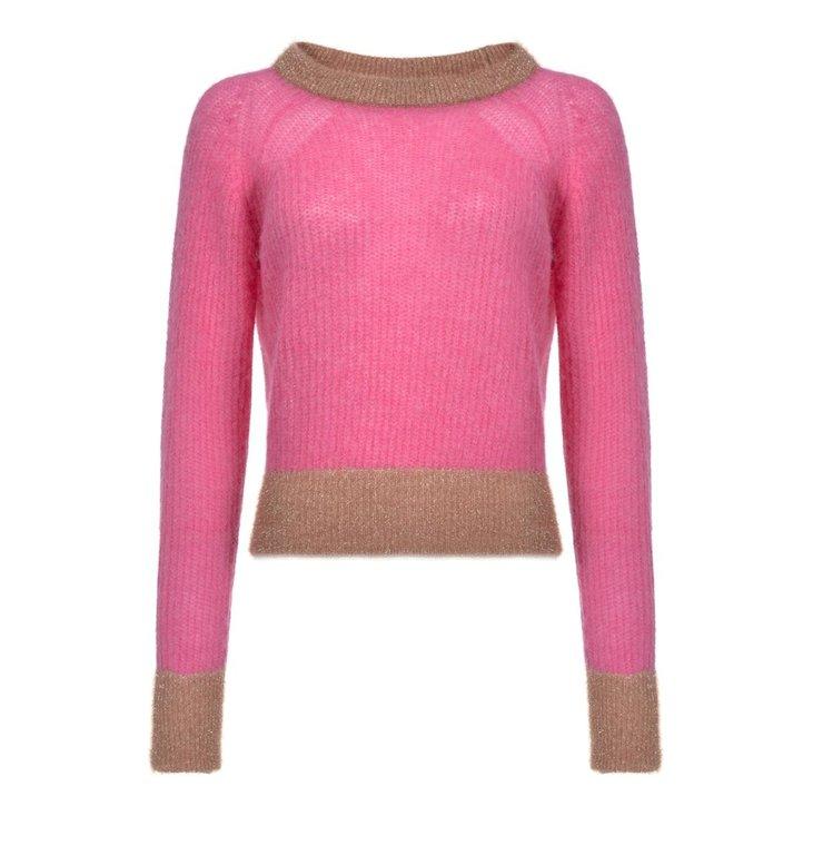 Pinko Pinko Pink Pull Quaggiu Maglia