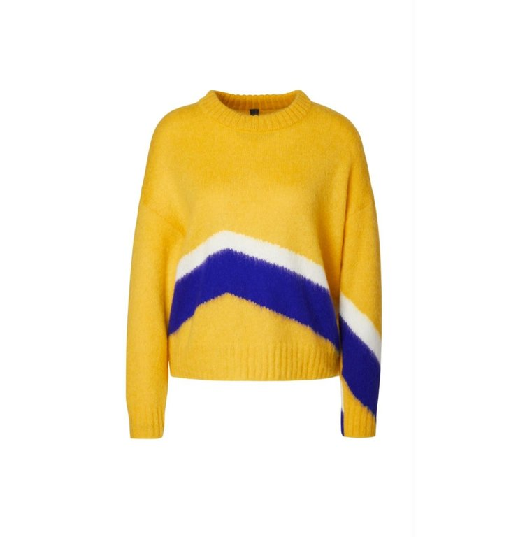 Marc Cain Marc Cain Yellow Knitted Sweater MC4125