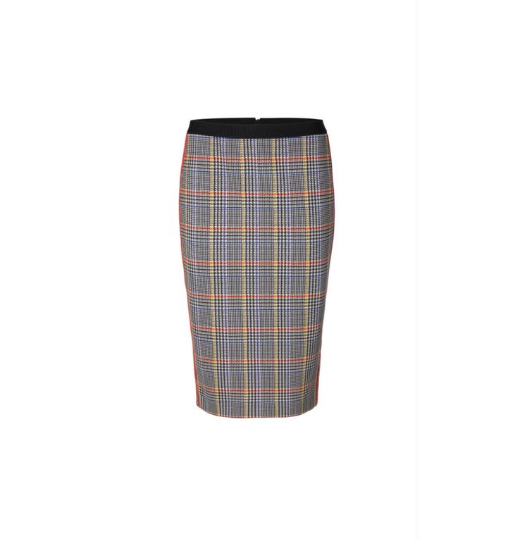 Marc Cain Marc Cain Plaid Skirt MC7119