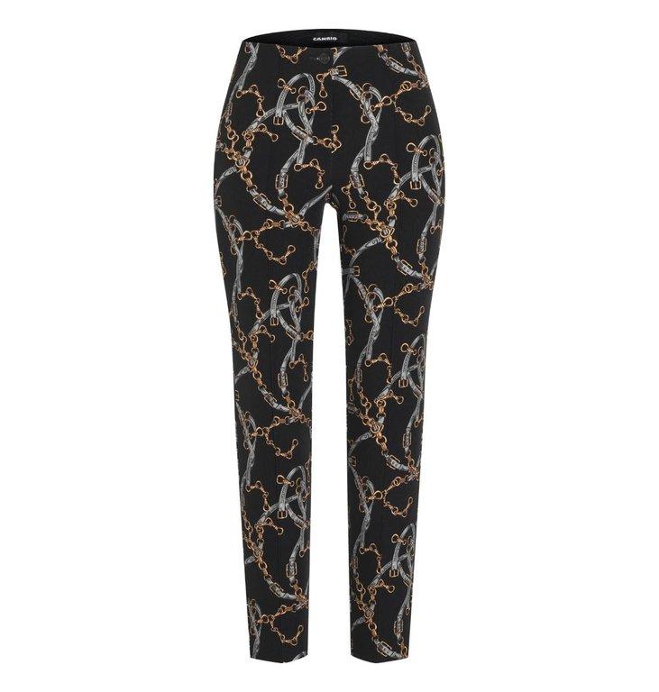 Cambio Cambio Black Ros Trouser 6756