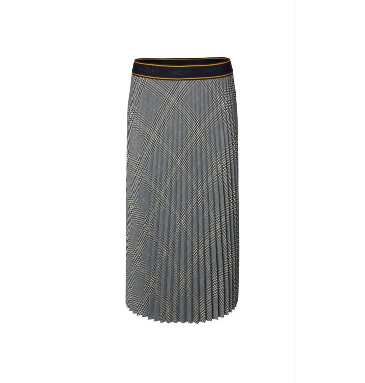 Marc Cain Marc Cain Plaid Plissé Skirt MC7127