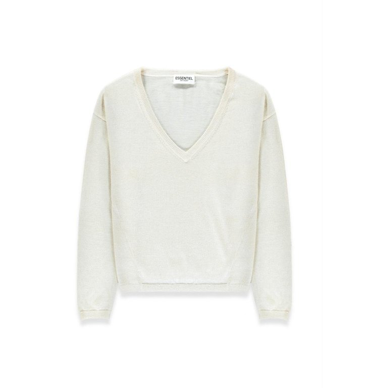 Essentiel Antwerp Essentiel Antwerp White Pull Takaroa