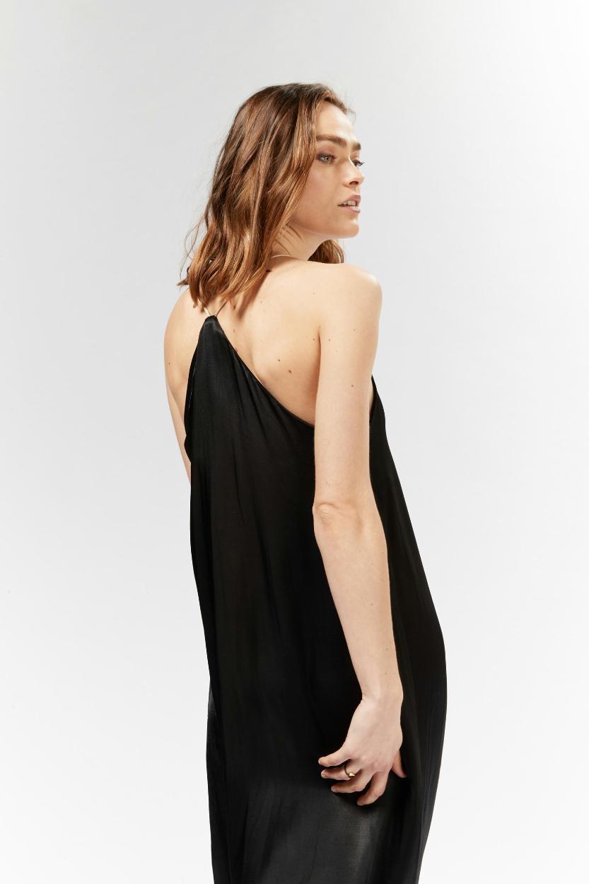10Days Black Long Dress 20.311.9103
