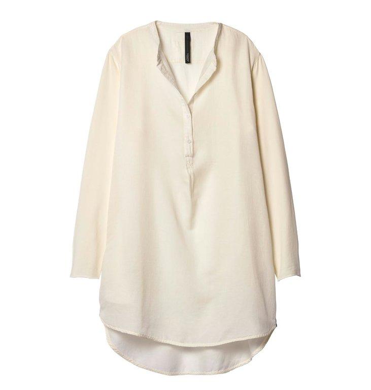 10Days 10Days Ecru Silk Tunic Dress 20.334.9103