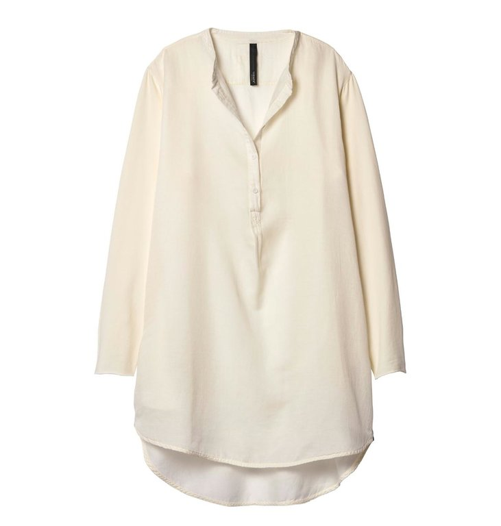 10Days 10Days Winter White Silk Tunic Dress 20.334.9103