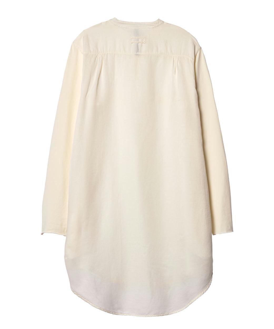 10Days Ecru Silk Tunic Dress 20.334.9103