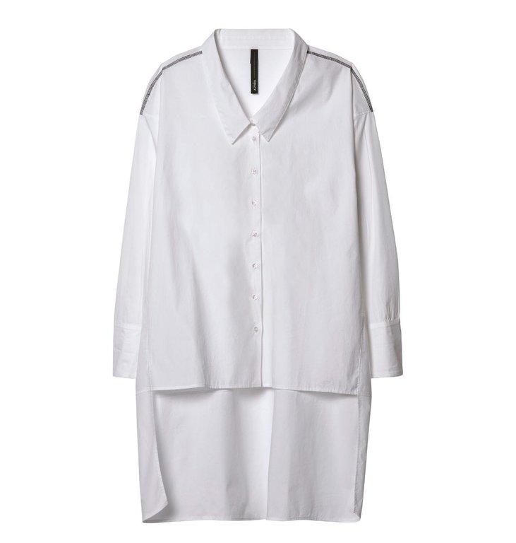 10Days 10Days White Shirt Dress 20.401.9103