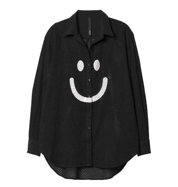10Days 10Days Black Happy Blouse 20.407.9103/7