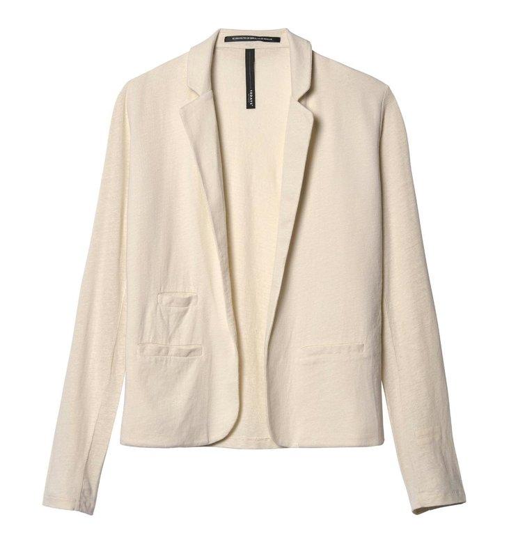 10Days 10Days Ecru Linen Blazer Tee 20.504.9103/7