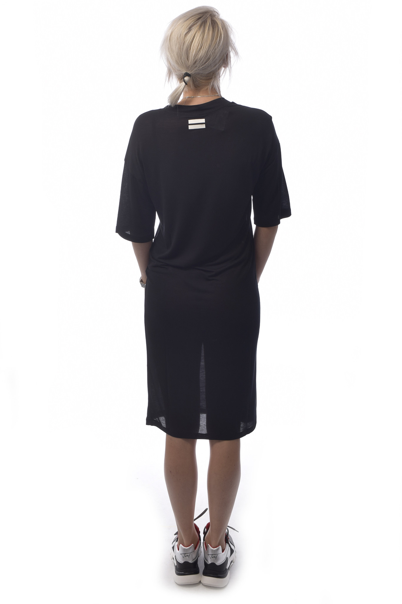 10Days Black Loosefit Dress 20.306.9103