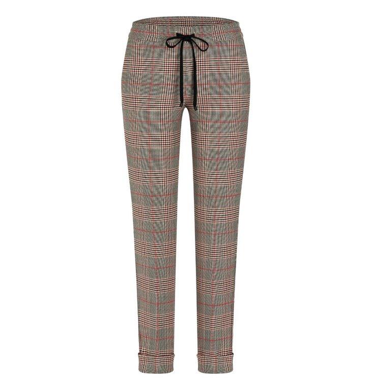 Cambio Cambio Plaid Kiki Trousers 6751