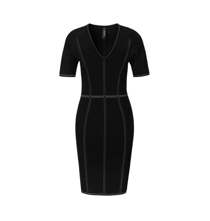 Marc Cain Marc Cain Black Dress MC2104