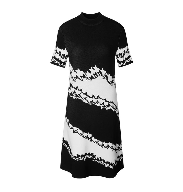 Marc Cain Marc Cain Black/White Dress MC2105