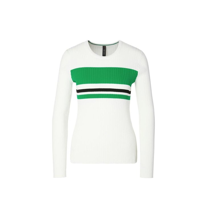 Marc Cain Marc Cain White/Green Pull MC4114