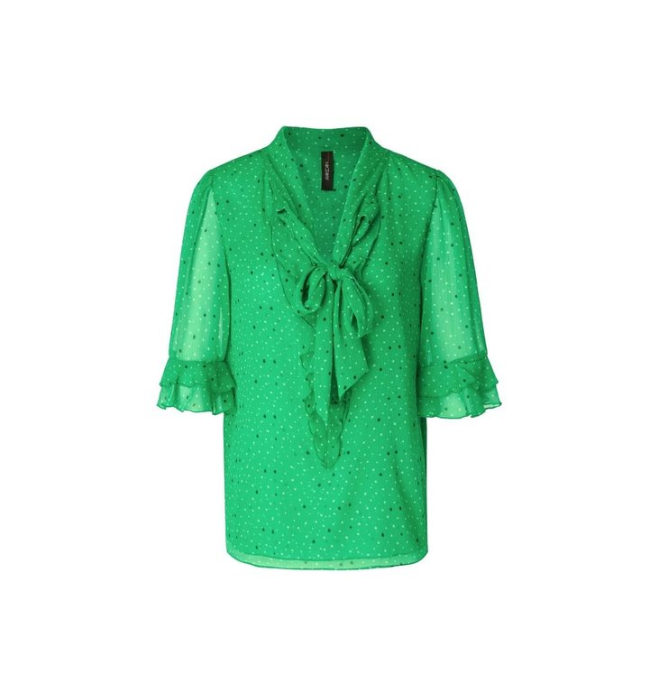 Marc Cain Marc Cain Green Blouse MC5112