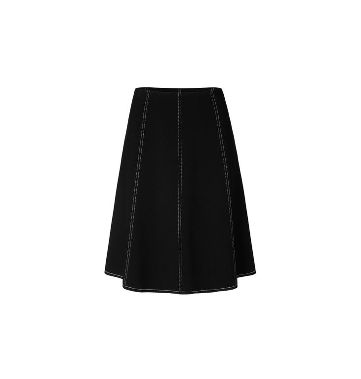 Marc Cain Marc Cain Black Skirt MC7104