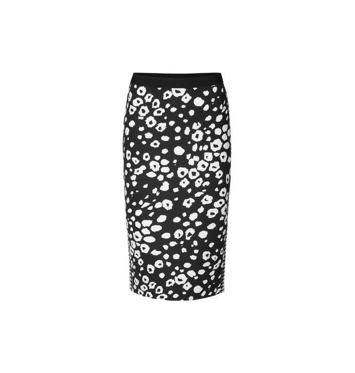 Marc Cain Marc Cain Black/White Skirt MC7126