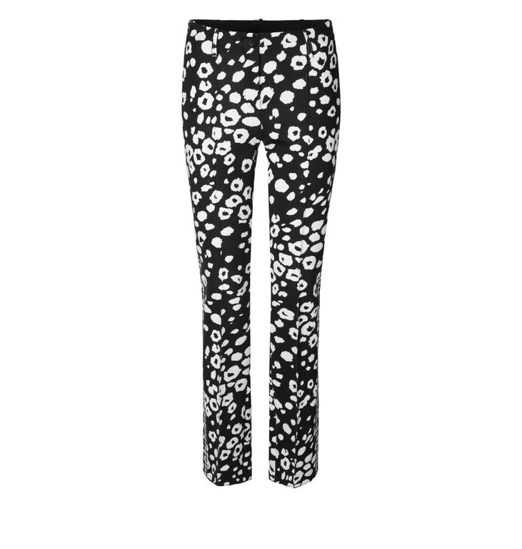Marc Cain Marc Cain Black/White Pantalon MC8130