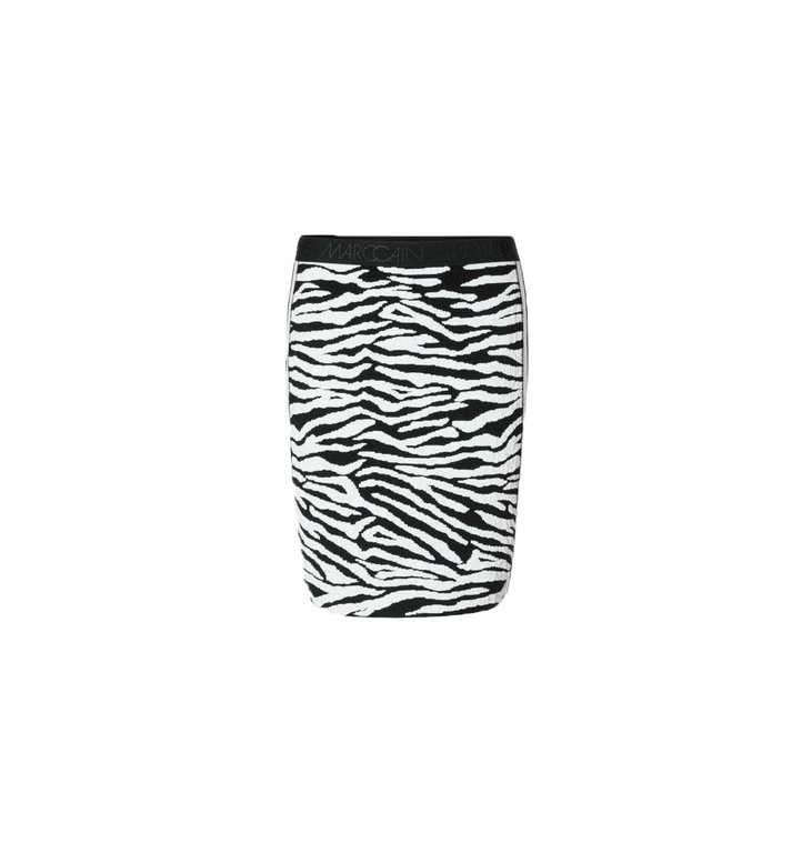 Marc Cain Marc Cain Zebra Print Skirt MS7114