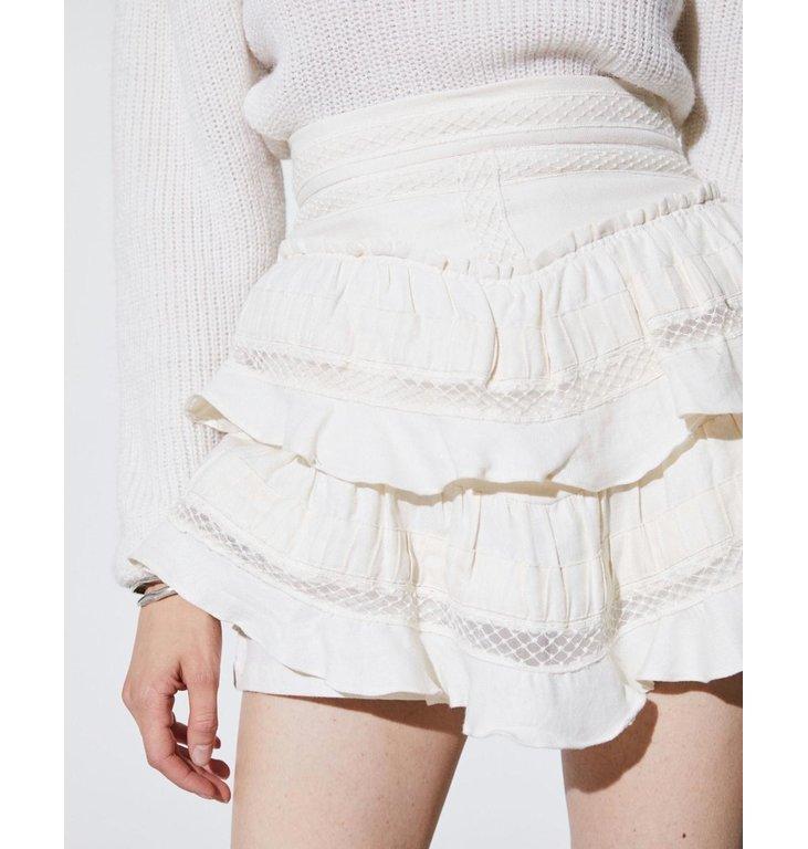 IRO IRO Ecru Skirt Here