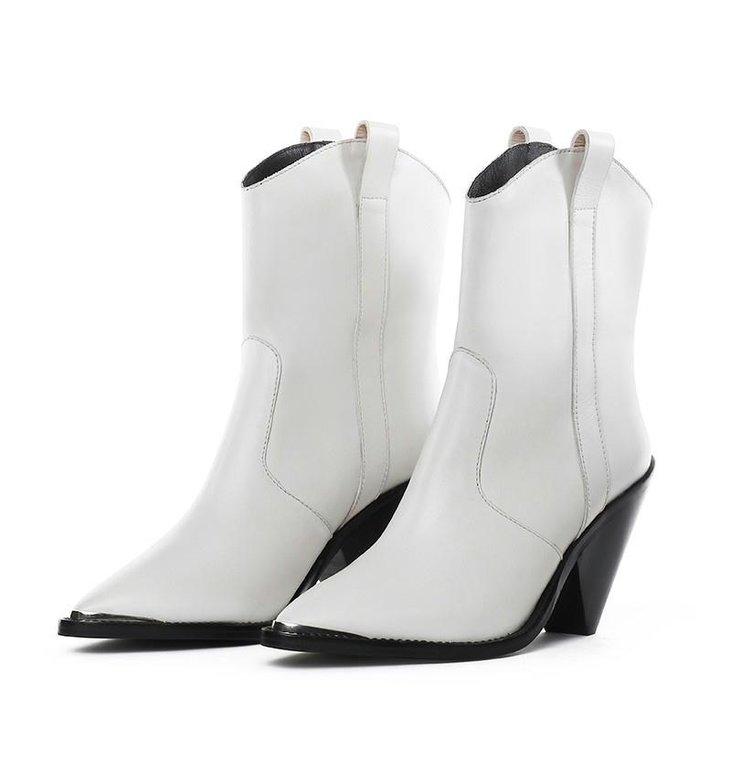 Toral Shoes Toral Shoes White Cowboy Boots TL