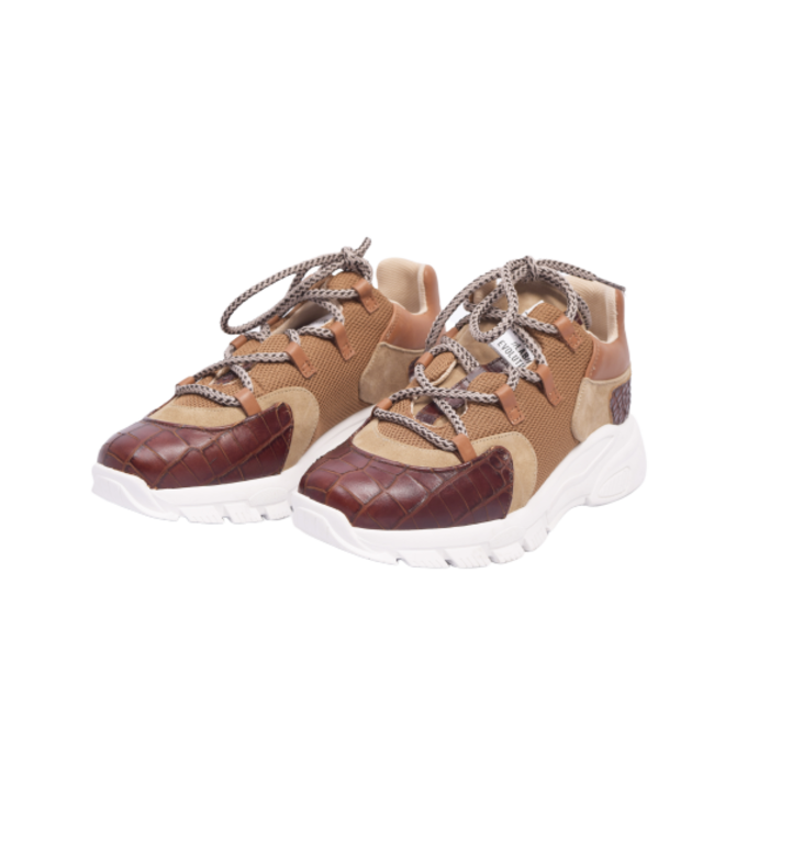 Toral Shoes Toral Shoes Camel Tech Sneakers TL