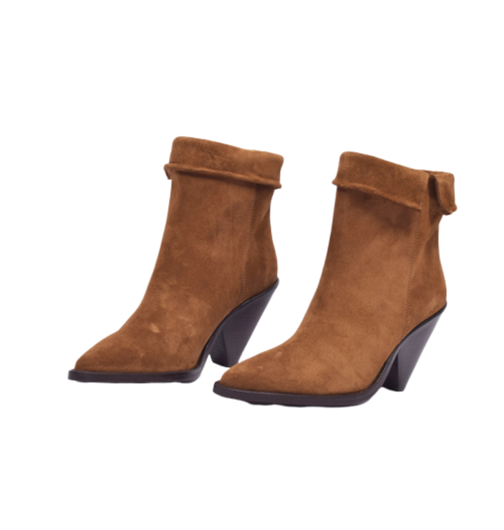 Toral Shoes Toral Shoes Brown Cowboy Boots TL