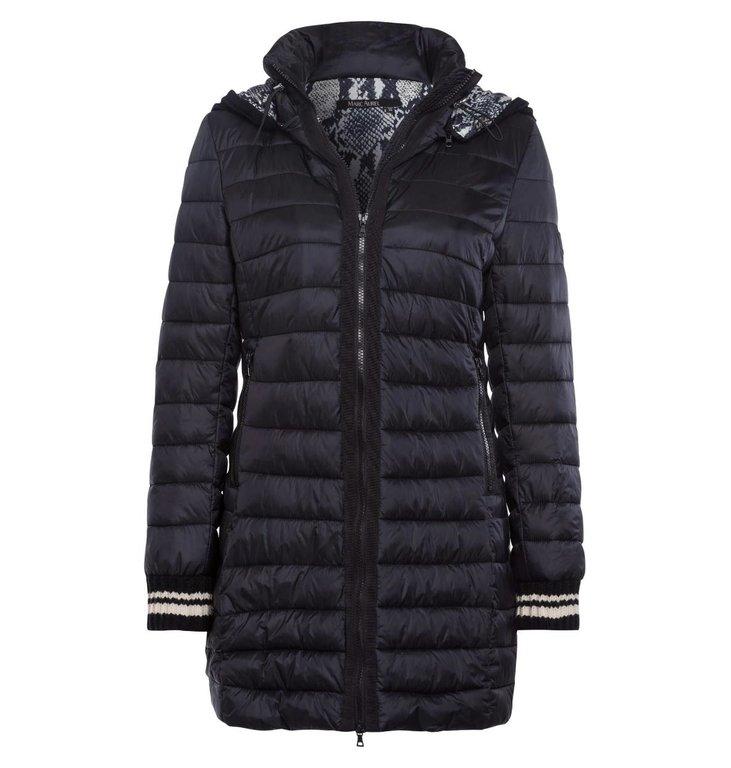 Marc Aurel Marc Aurel Black Coat 4409