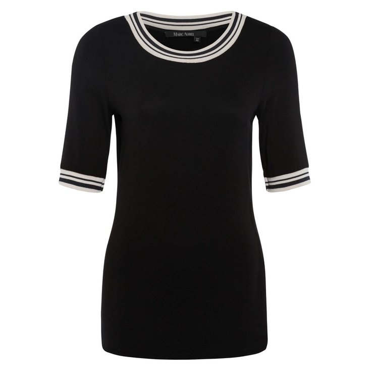Marc Aurel Marc Aurel Black Shirt 7880