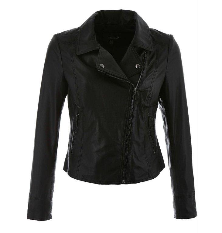 Arma Arma Black Leather Jack Lovato