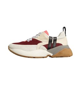 10Days 10Days Dark Red Tech Sneakers 20.935.9103/8