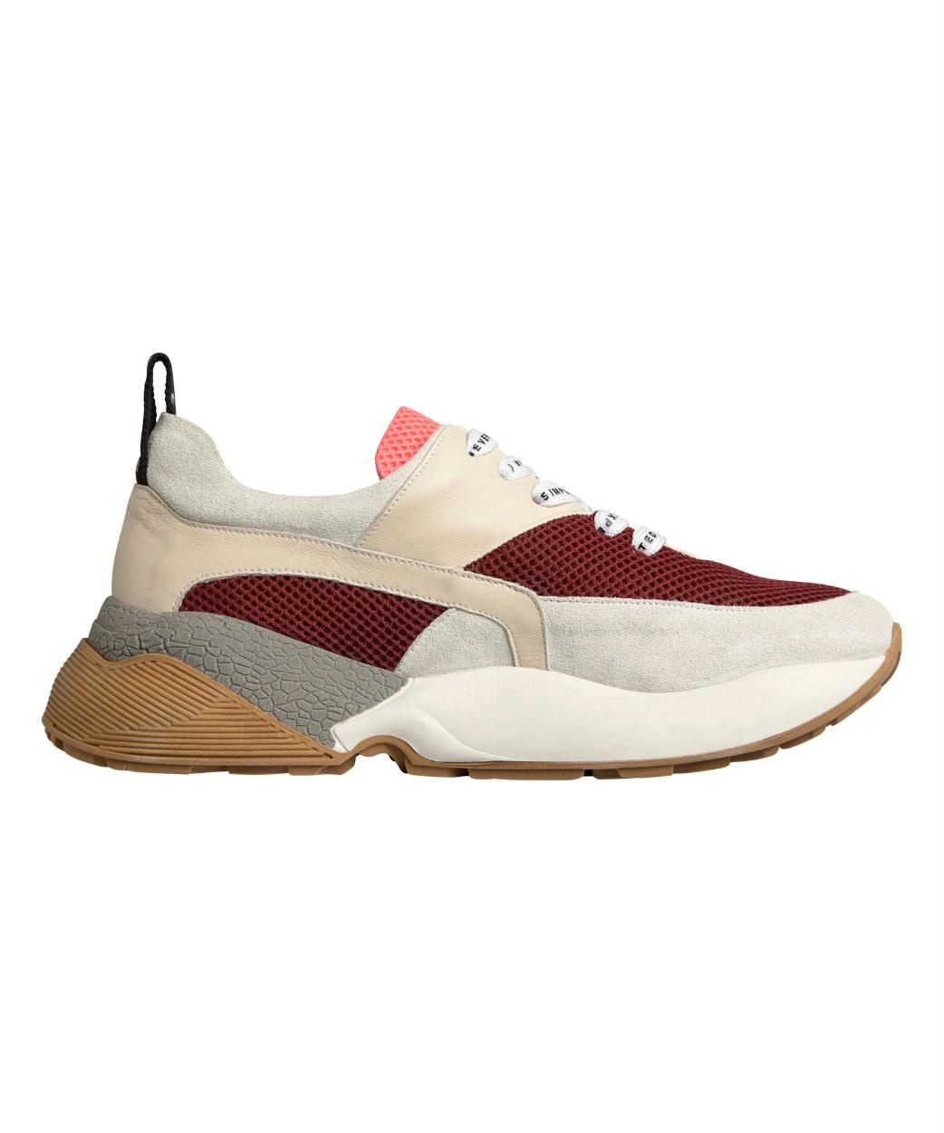 10Days Dark Red Tech Sneakers 20.935.9103/8