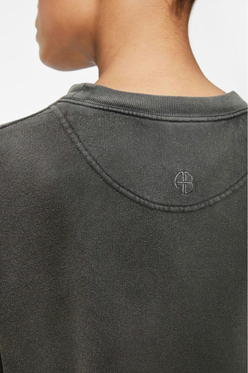 Anine Bing Charcoal Ramona Sweatshirt Streets AB47.055.09