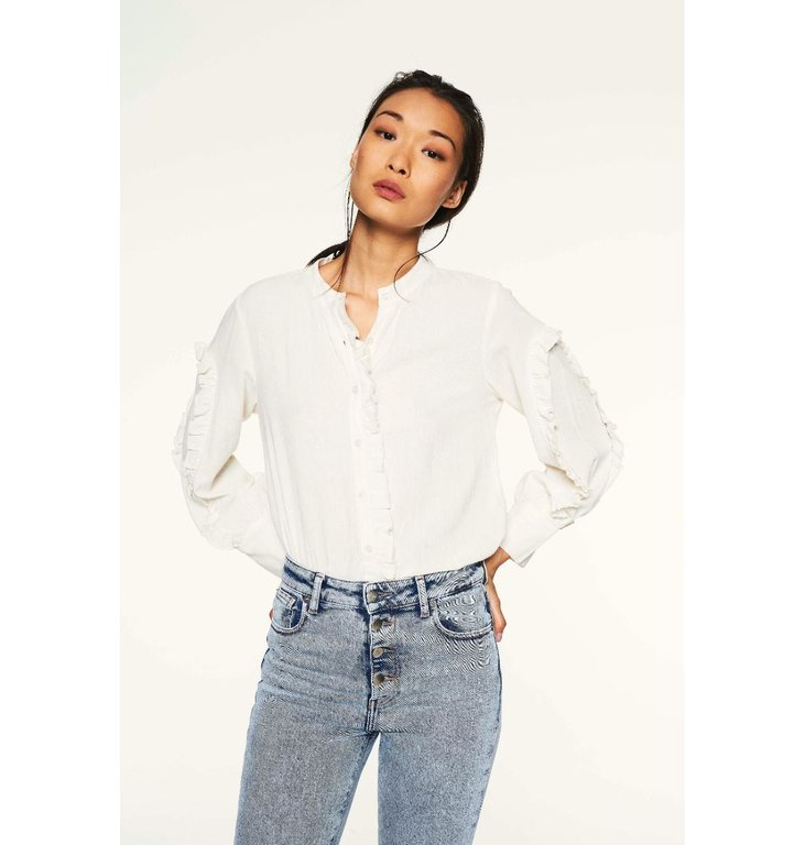 Ba&sh Ba&sh White Blouse Ceana