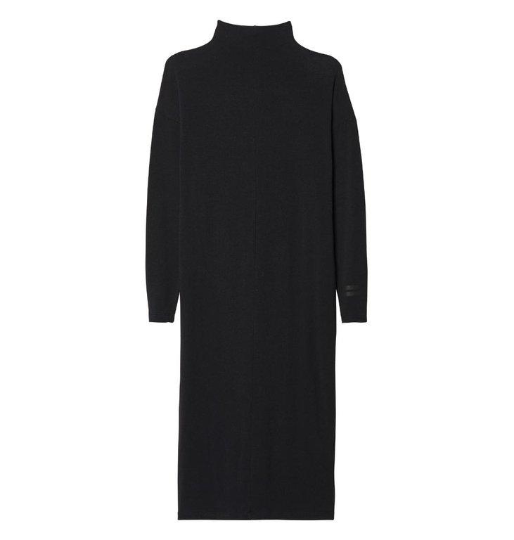 10Days 10Days Black High Neck Dress 20.331.9103/8