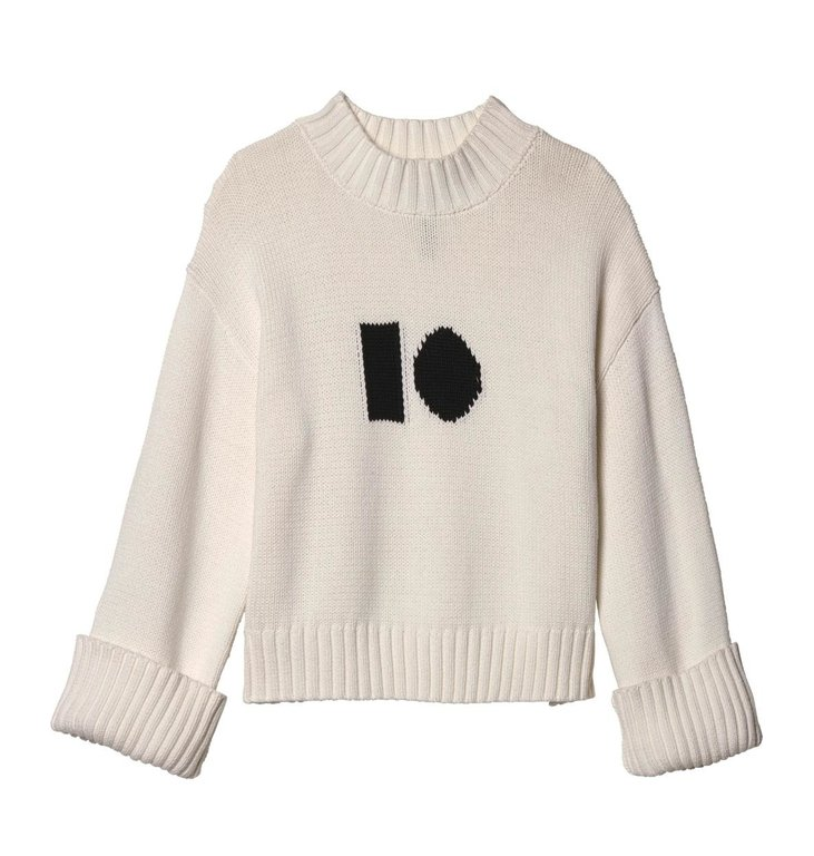 10Days 10Days Ecru Big Sweater 20.603.9103/8