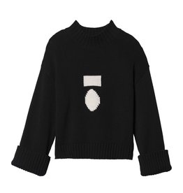 10Days 10Days Black Big Sweater 20.603.9103/8