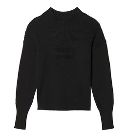 10Days 10Days Black Sweater Rib 20.604.9103/8