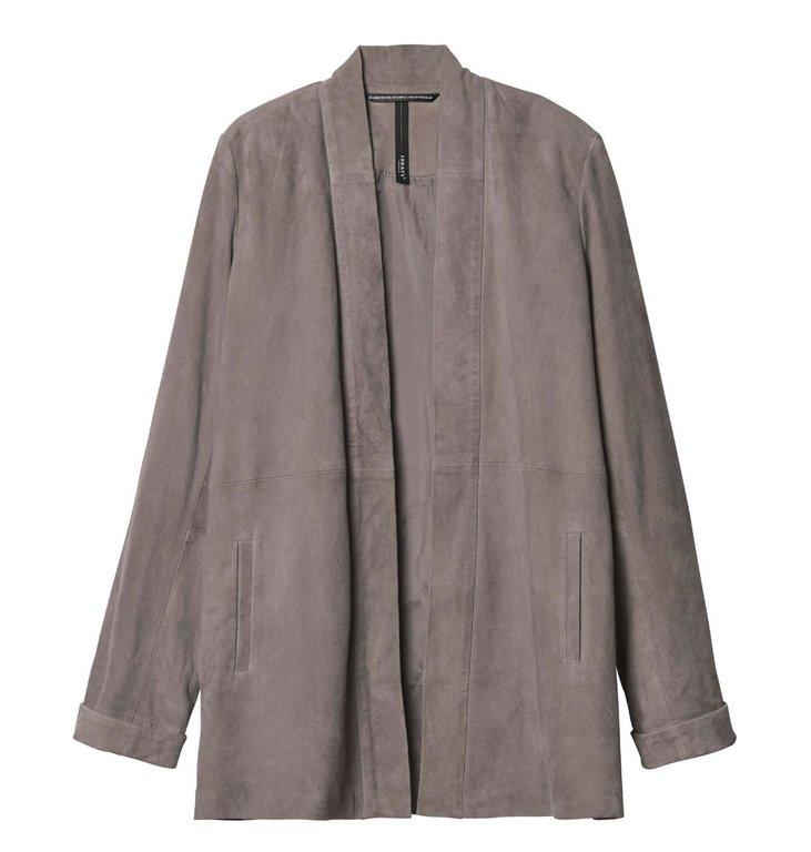 10Days 10Days Suede Leather Blazer 20.513.9103/8