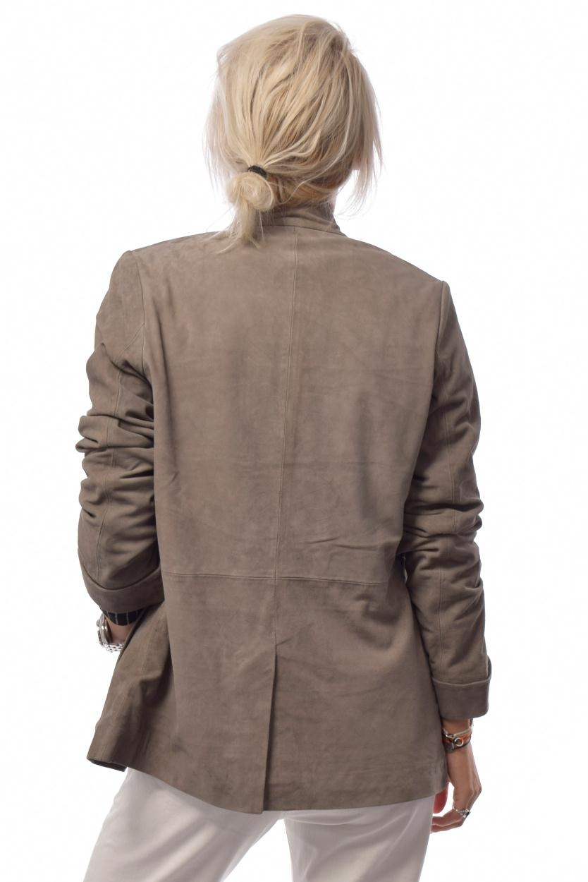 10Days Suede Leather Blazer 20.513.9103/8