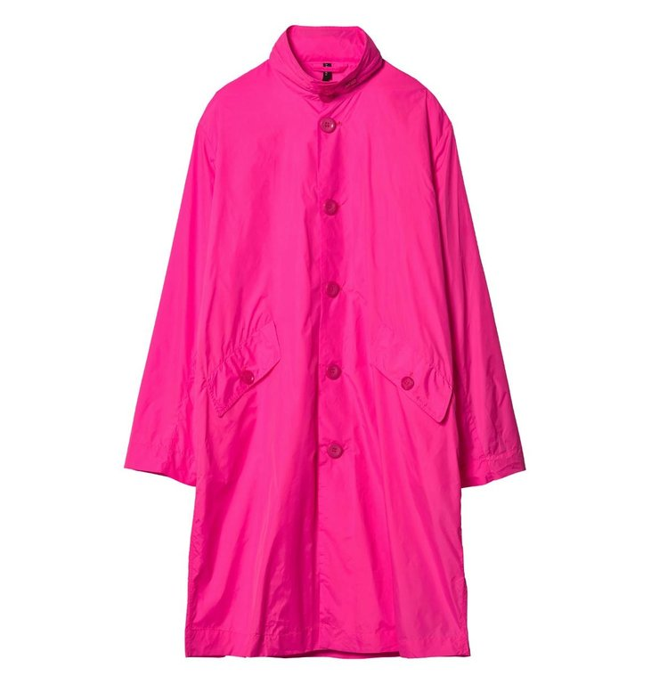 10Days 10Days Fluor pink Nylon Coat 20.577.9103/8