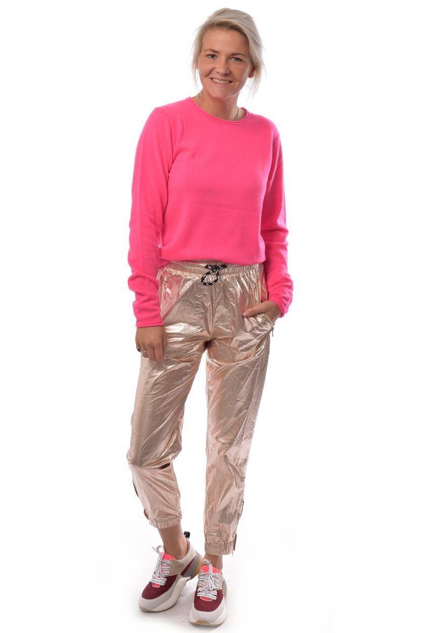 10Days Fluor Pink Sweater Crew Neck 20.602.9103/8