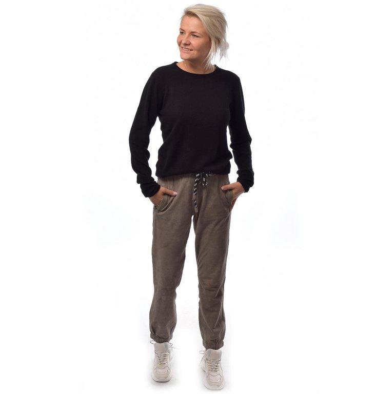 10Days 10Days Black Sweater Crew Neck 20.602.9103/8