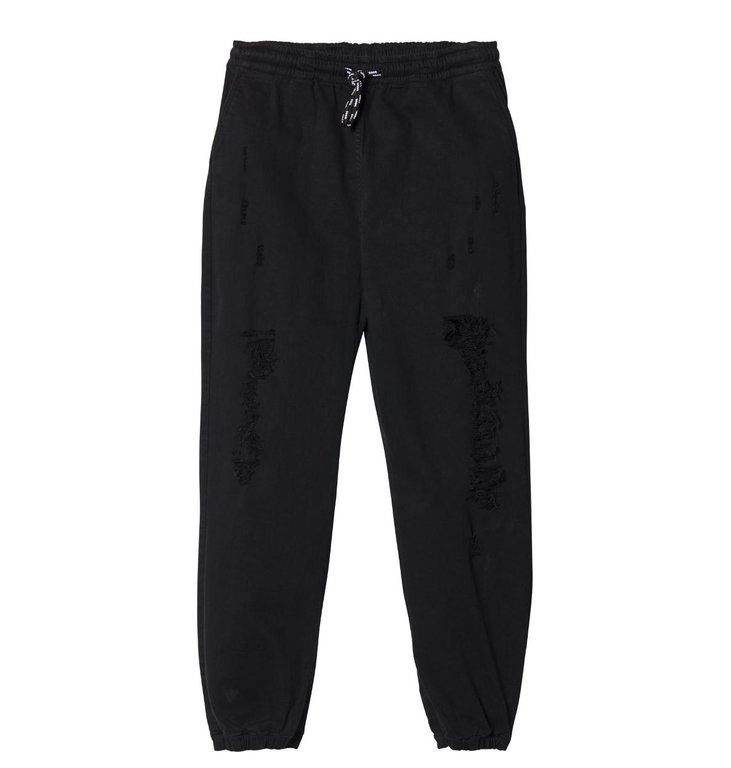 10Days 10Days Black Oversized Denim Jogger 20.062.9103/8